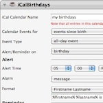 iCalBirthdays